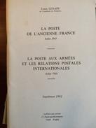 Lenain 1981 Supplement 1981 57 Pages - Oblitérations