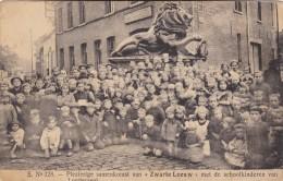 """Londerzeel - Plezierige Samenkomst Van """"Zwarte Leeuw"""" Met De Schoolkinderen Van Londerzeel (zie Achterkant) - Londerzeel"""