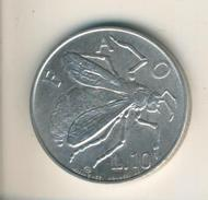 San Mariono V. 1974  10 Lire  (49066) - San Marino
