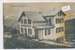 CPA - Suisse -  Restaurant Bettmerhorn ( Défauts = 2 Scans) - BE Berne
