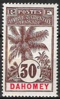Dahomey 1906  -  N° YT  25, Neuf *  TB - Neufs