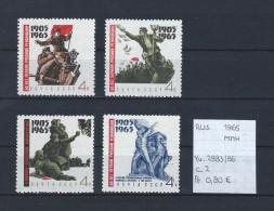 USSR 1965 - YT 2983/86 Postfris/neuf/MNH - 1923-1991 USSR