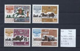 USSR 1965 - YT 3022-3023-3025-3027 Postfris/neuf/MNH - 1923-1991 USSR