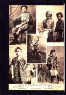 BM-20 TYPES INDO-CHINESE BIRMAN ET SA FEMME - Myanmar (Burma)