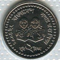 Bangladesh 2 Taka 2008 UNC KM 25 - Bangladesh