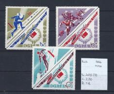 USSR 1966 - YT 3075/77 Postfris/neuf/MNH - 1923-1991 USSR
