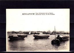 SP3-74 VUE GENERALE DE LA RADE - Singapour
