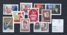 USSR 1966 - YT 3062-3063-3071/72-3073-3083-3084-3087-3090-3091 Postfris Met Plakker/MH - 1923-1991 USSR