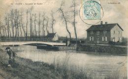 N°35 L -cpa Caen -pont De Calix- - Caen