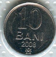 Moldavie Moldova 10 Bani 2008 UNC KM 7 - Moldavie
