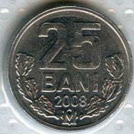Moldavie Moldova 25 Bani 2008 UNC KM 3 - Moldavia