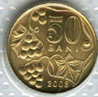 Moldavie Moldova 50 Bani 2008 UNC KM 10 - Moldavie