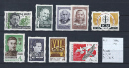 USSR 1966 - YT 3106-3112-3113/14-3123-3130-3131-3135-3136 Postfris Met Plakker/neuf Avec Charnière/MH - 1923-1991 USSR