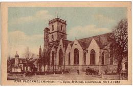 PLOËRMEL: L'Eglise St-Armel - Ploërmel