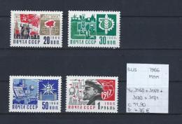 USSR 1966 - YT 3168-3169-3170-3171 Postfris/neuf/MNH - 1923-1991 USSR