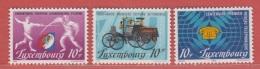 1985 ** (sans Charn., MNH, Postfrisch)  Yv  1071/3Mi  1121/3 - Luxembourg