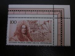 BRD Nr. 1865 Eckrand Postfrisch** 2(B13) - BRD
