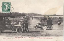 CPA Juvisy - Port Aviation Le Garage Des Automobiles Voitures Très Anciennes - Juvisy-sur-Orge