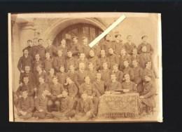 Poitiers (vienne) Enseignement - Ecole Normale D'instituteurs - Photo De Groupe Datation Verso 1905 - Lieux