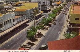 "05014 ""SALIM ROAD - MOMBASA"" ANIMATA, AUTO.  CART SPED 1960 - Kenia"