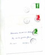 Lettre Cachet Neufchateau Annexe - Marcophilie (Lettres)