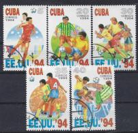 "Cuba  1994  Football World Cup ""USA `94"" (o) - Cuba"