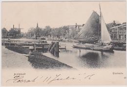 Alkmaar - Bierkade - 1906 (rechterzijde Is Scheef Afgesneden) - Alkmaar