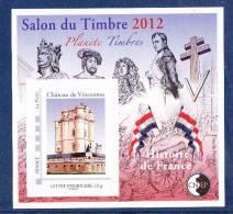 #           ¤¤    Yvert N° 61 - CNEP : Salon Du Timbre PARIS 2012 - Neuf** Luxe - Voir MESSAGE DU VENDEUR  ¤¤ - CNEP