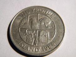 ISLANDE - 10 KRONUR 1984. - Islande