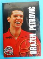 DRAZEN PETROVIC Large Monograph * Basketball NBA New Jersey Brooklyn Nets Portland Trail Blazers Real Madrid Basket-ball - Books