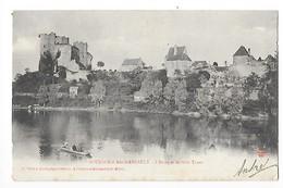 BOURBON L'ARCHAMBAULT  (cpa 03)  L'étang Et Les Trois Tours -   - L 1 - Bourbon L'Archambault
