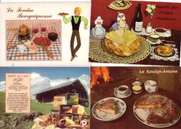 Lot De  11 Cp De Recette   Voir Scan - 5 - 99 Postcards