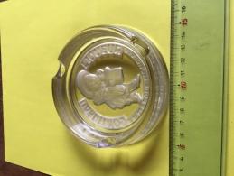 Cointreau Cendrier De Luxe De La Marque Cointreau Objet Publicitaire Liqueur De Renommée Mondiale Superbe !!! - Ashtrays