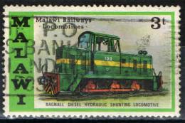 MALAWI - 1976 - LOCOMOTIVA - USATO - Malawi (1964-...)