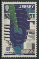 Jersey 1988 Mi 438 YT 432 ** Port Control Tower, Jersey Radio Maritime Communication Centre, La Moye / Radarstation - Transportmiddelen
