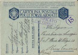 FRANCHIGIA WWII POSTA MILITARE 3500 CONC MESSINA 1942 SANTA CROCE CAMERINA - 1900-44 Vittorio Emanuele III