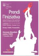 PROMOCARD N°   7672  COMUNE DI MILANO GIORNATA MONDIALE CONTRO L' AIDS - Publicité