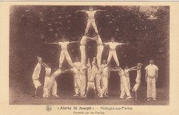 Hollogne - Alerte St Joseph - Pyramide Par Les Pupilles (Gym, Top Animation, Ed. Beghon) - Grâce-Hollogne