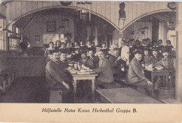 Hesbestal - Hilffstelle Rotes Kreuz Gruppe B (Croix Rouge, Red Cross, 1916) - Lontzen