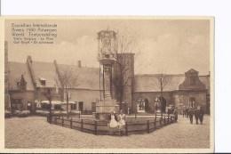 1 CP Anvers/Antwerpen  1930. Exposition. Vieille Belgique. Le Pilori. Dames En Costume. Animation - Non Classés