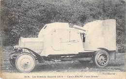 La Grande Guerre 1914 - Canon KRUPP - L'auto Fermée - Materiale