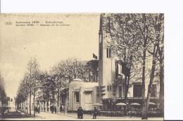1 CP Anvers/Antwerpen  1930. Exposition. Avenue De La Colonie. Animation - Non Classés