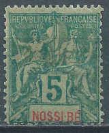 Nossi Bé - 1894 -  Type Sage  - N°30 - Neuf * - Nossi-Bé (1889-1901)