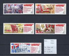 USSR 1971 - YT 3761/65 Postfris/neuf/MNH - 1923-1991 USSR