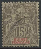 Guinée (1900) N 15 (o)