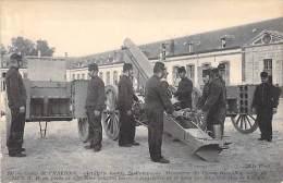 Camp De CHALONS : Artillerie Lourde De Campagne. Manoeuvre Du Canon Rimailho De 155 C T R - Ausrüstung