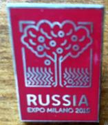 RUSSIA EXPO MILANO 2015, Pin Souvenir Offert Aux VIP, Neuf, Dans Son Emballage Original (UN SEUL DISPONIBLE) - 2015 – Milán (Italia)