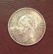 PAYS-BAS - 2 1/2 GULDEN Whilhelmina 1937 - 1/2 Gulden
