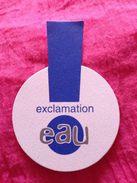 Carte Parfumée  Lot De 2 Cartes  EXCLAMATION  EAU  + ! EXCLAMATION DE COTY - Cartes Parfumées