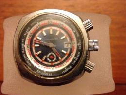 Rare Montre Cosmontre De Plonger Avec Les Décalage D Heure - Watches: Old